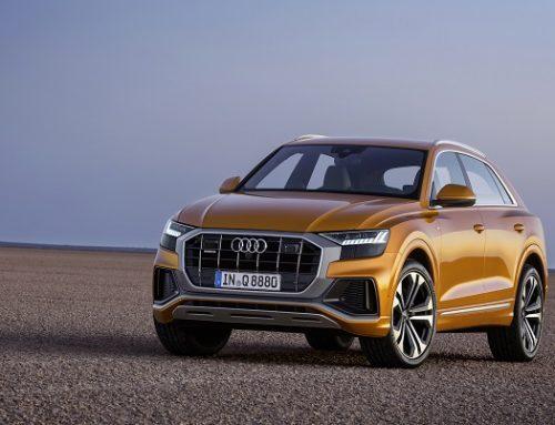 Новото Audi Q8 залага на агресията и меката хибридна технология